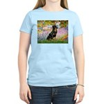 Garden / Rottweiler Women's Light T-Shirt
