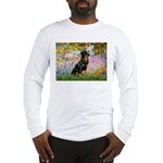 Garden / Rottweiler Long Sleeve T-Shirt