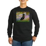 Garden / Rottweiler Long Sleeve Dark T-Shirt