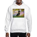 Garden / Rottweiler Hooded Sweatshirt