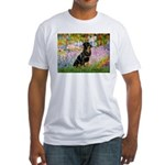 Garden / Rottweiler Fitted T-Shirt