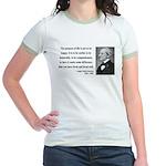 Ralph Waldo Emerson 17 Jr. Ringer T-Shirt