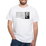 Ralph Waldo Emerson 17 White T-Shirt