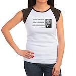 Ralph Waldo Emerson 17 Women's Cap Sleeve T-Shirt