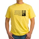 Ralph Waldo Emerson 17 Yellow T-Shirt