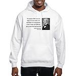 Ralph Waldo Emerson 17 Hooded Sweatshirt