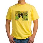 Irises & Papillon Yellow T-Shirt