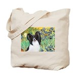 Irises & Papillon Tote Bag