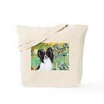 Irises & Papillon Tote Bag