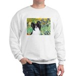 Irises & Papillon Sweatshirt