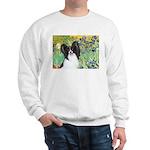 Irises & Papillon Sweatshirt