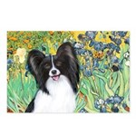 Irises & Papillon Postcards (Package of 8)