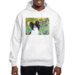 Irises & Papillon Hooded Sweatshirt