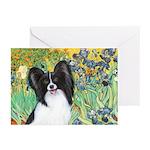 Irises & Papillon Greeting Cards (Pk of 10)
