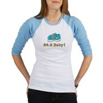 26.2 Marathon Runner Light Blue Jr. Raglan