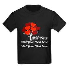 Custom add text Love tree T