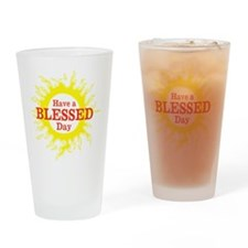 Sun - Blessed Day -- Drinking Glass
