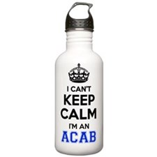 Funny Acab Water Bottle