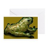 Funny Frog print Greeting Cards (Pk of 10)