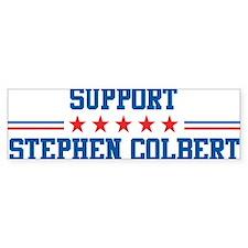 Support STEPHEN COLBERT Bumper Bumper Sticker