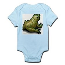 Cute Frog frogs toad toads prince Infant Bodysuit