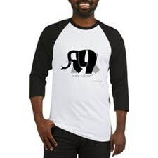 Ali Black Elephant Baseball Jersey
