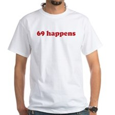 69 happens (red) Shirt
