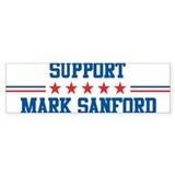Support MARK SANFORD Bumper Bumper Sticker