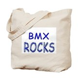 BMX Rocks Tote Bag