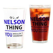 Cute Nelson Drinking Glass