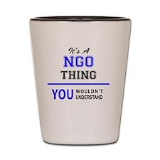Cute Ngo Shot Glass