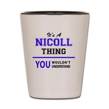 Cute Nicole Shot Glass