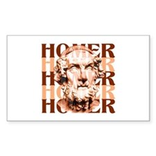 Homer Rectangle Decal