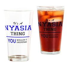 Cute Nyasia Drinking Glass