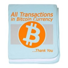 All Transactions in Bitcoin Currency baby blanket
