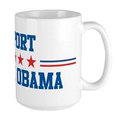 Support BARACK OBAMA Large Mug