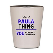 Unique Paula Shot Glass