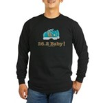 26.2 Marathon Runner Long Sleeve Black T-Shirt