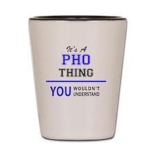 Unique Pho Shot Glass