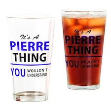 Cute Pierre Drinking Glass