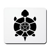 Turtle & Pentacle Mousepad