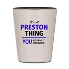 Preston Shot Glass