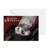 Ferret Love Greeting Cards (Pk of 10)