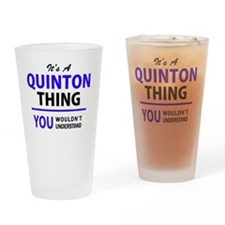 Cute Quinton Drinking Glass