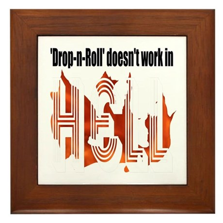 Drop N Roll Framed Tile