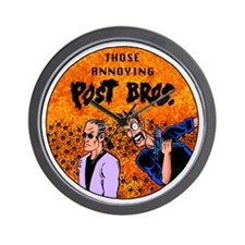 Post Bros1 Wall Clock