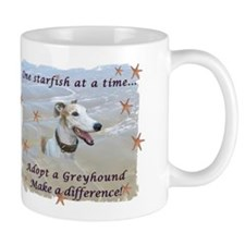 Lorrie's Greyhound Starfish Mug