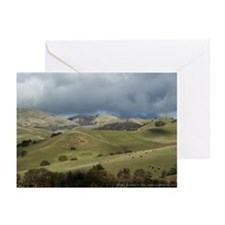 Countryside w/ Cows Greeting Cards (6)