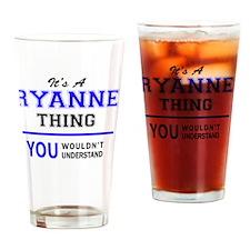 Cute Ryann Drinking Glass