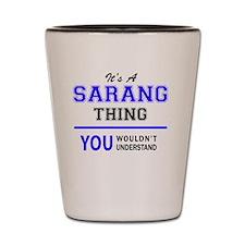 Cool Sarang Shot Glass